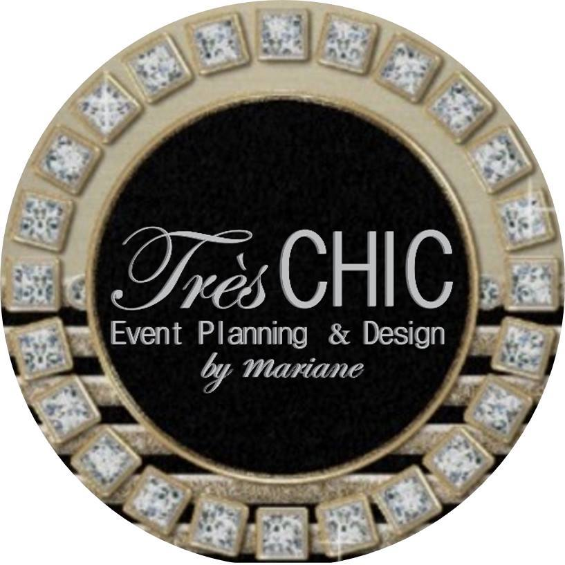 logo Trés CHIC Event Planning & Design